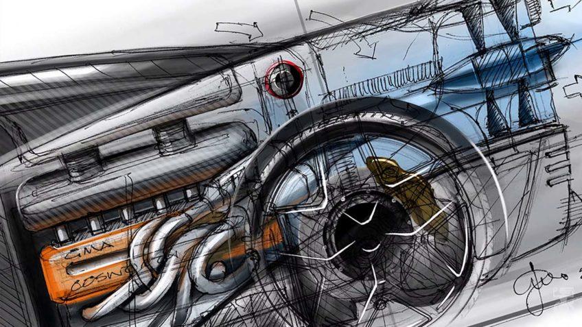 Driezitter V-12 Supercar