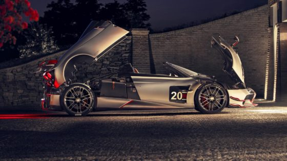 De nieuwe Pagani Huayra Roadster BC