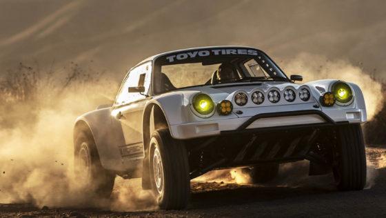 Rally-Porsche 911 voor openbare weg